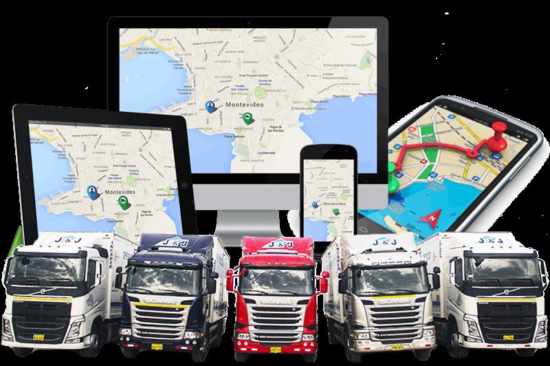 Unidades con rastreo satelital GPS