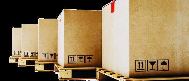 Servicios logísticos de transporte y almacenamiento - Servicios de modulo y embalaje
