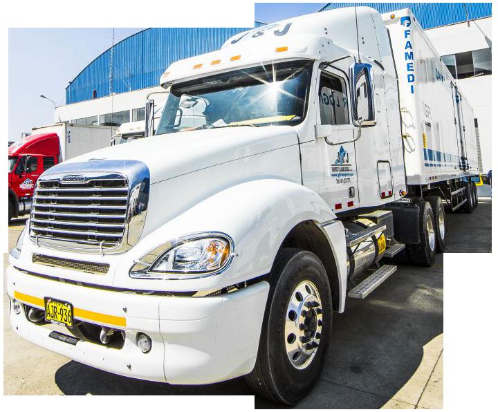 Servicios logísticos de transporte y almacenamiento - Servicios de Carga Refrigerada